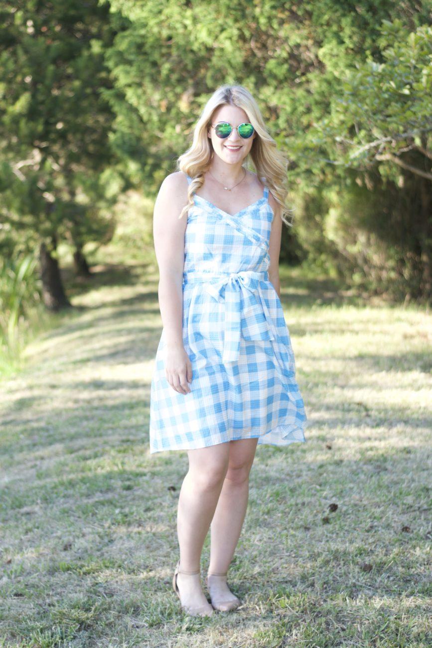 Gingham Dress by Draper James