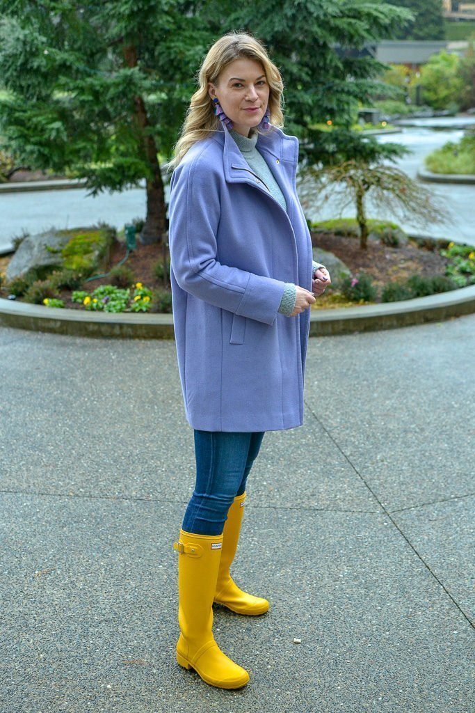 fashion blogger purple
