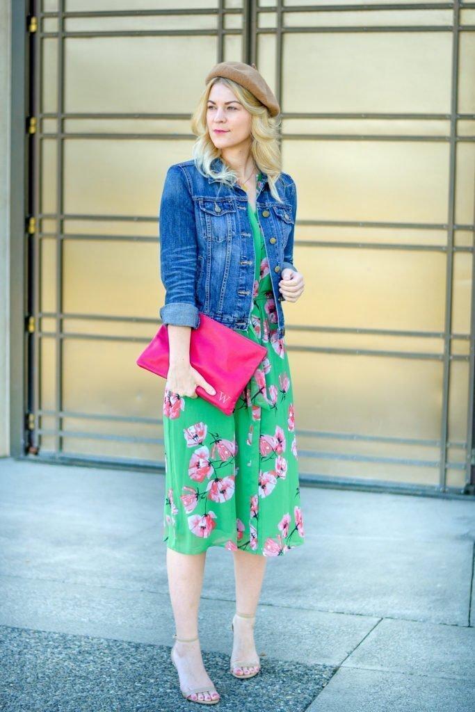 floral dress spring