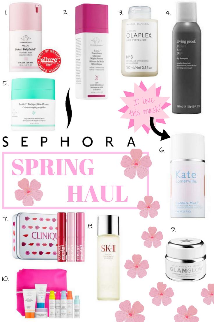 Sephora Spring Sale Haul: Managing Skincare In My 30's