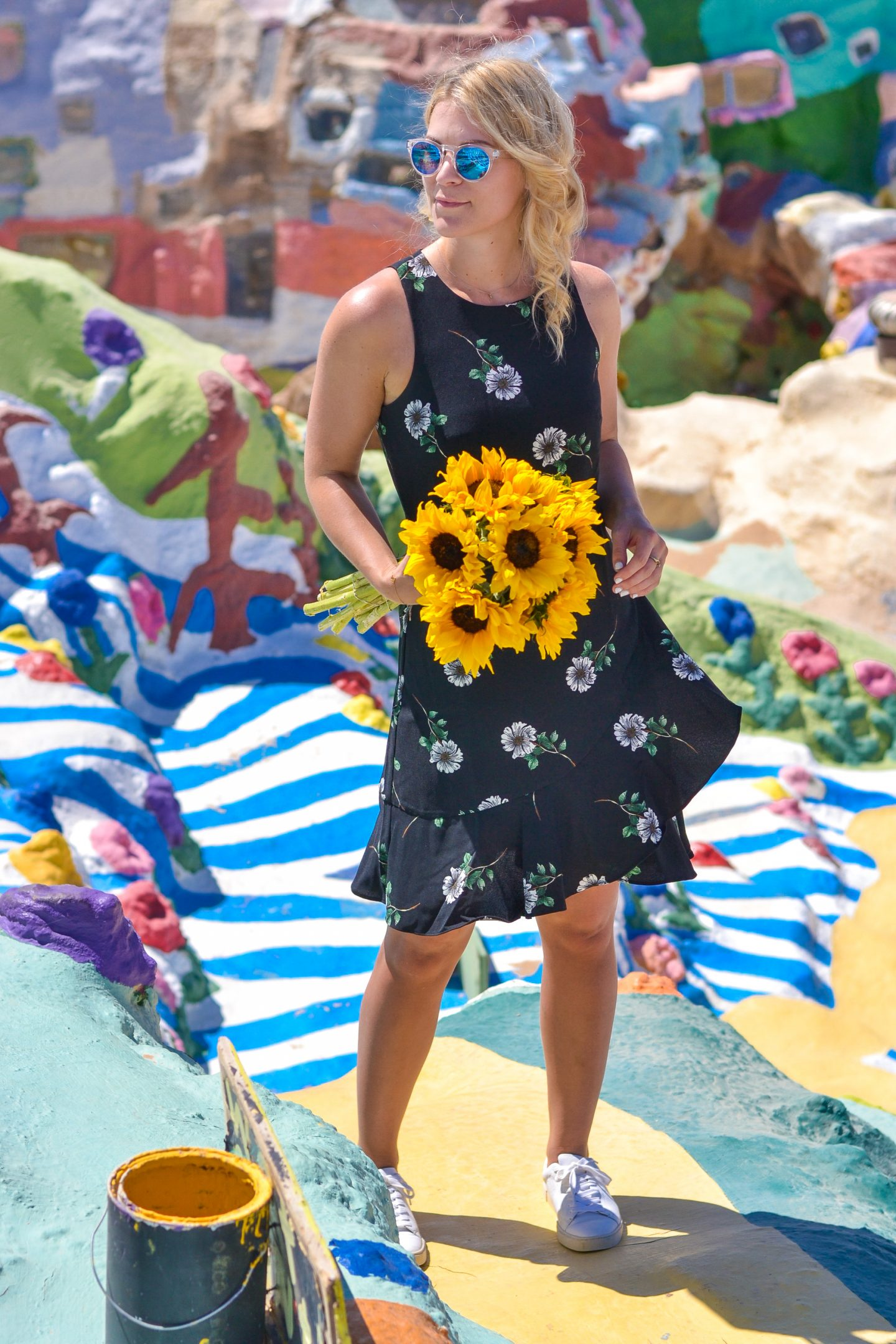 Floral Daisy Dress