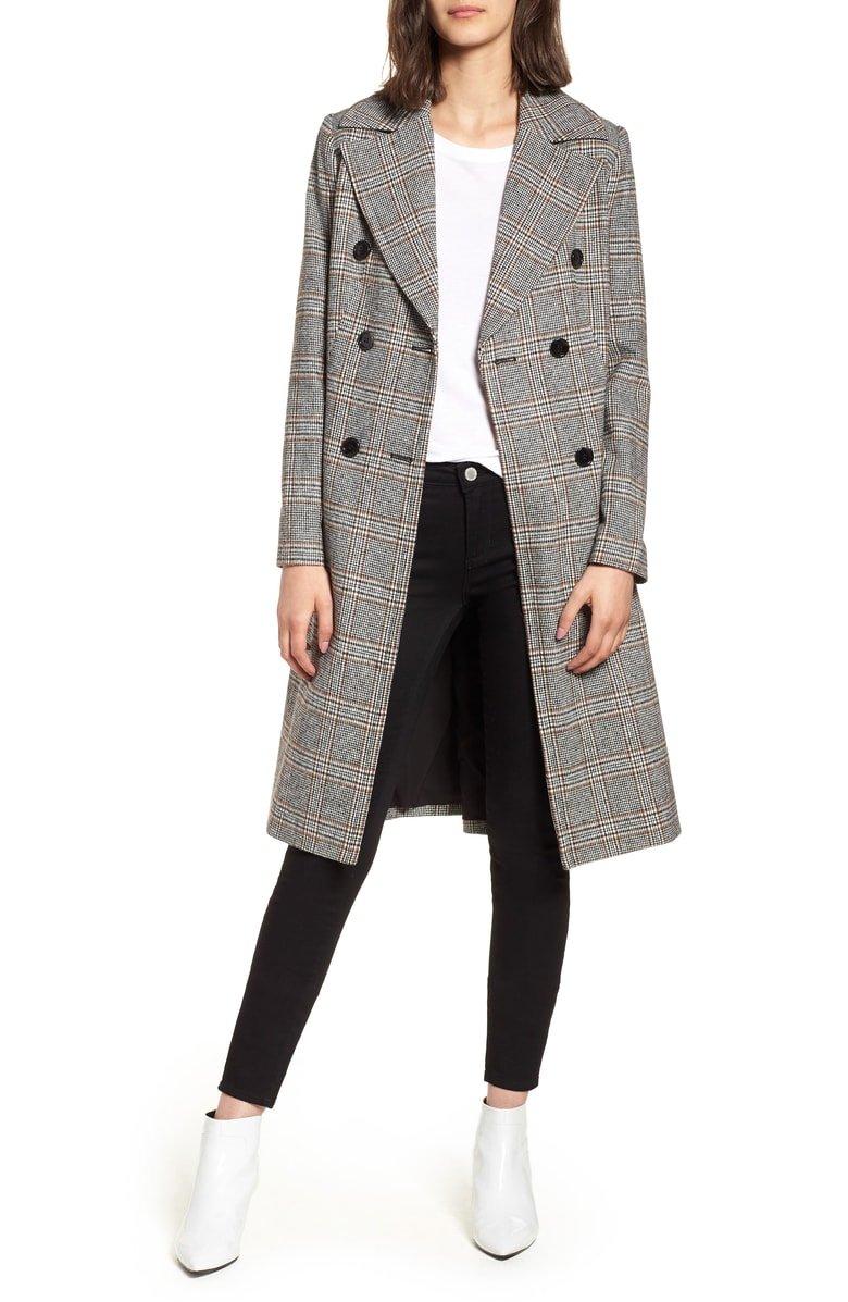 nordstrom blazer midi coat