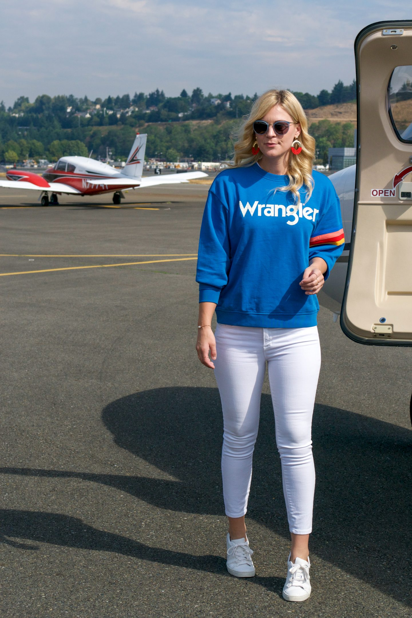 Up and Away in Wrangler