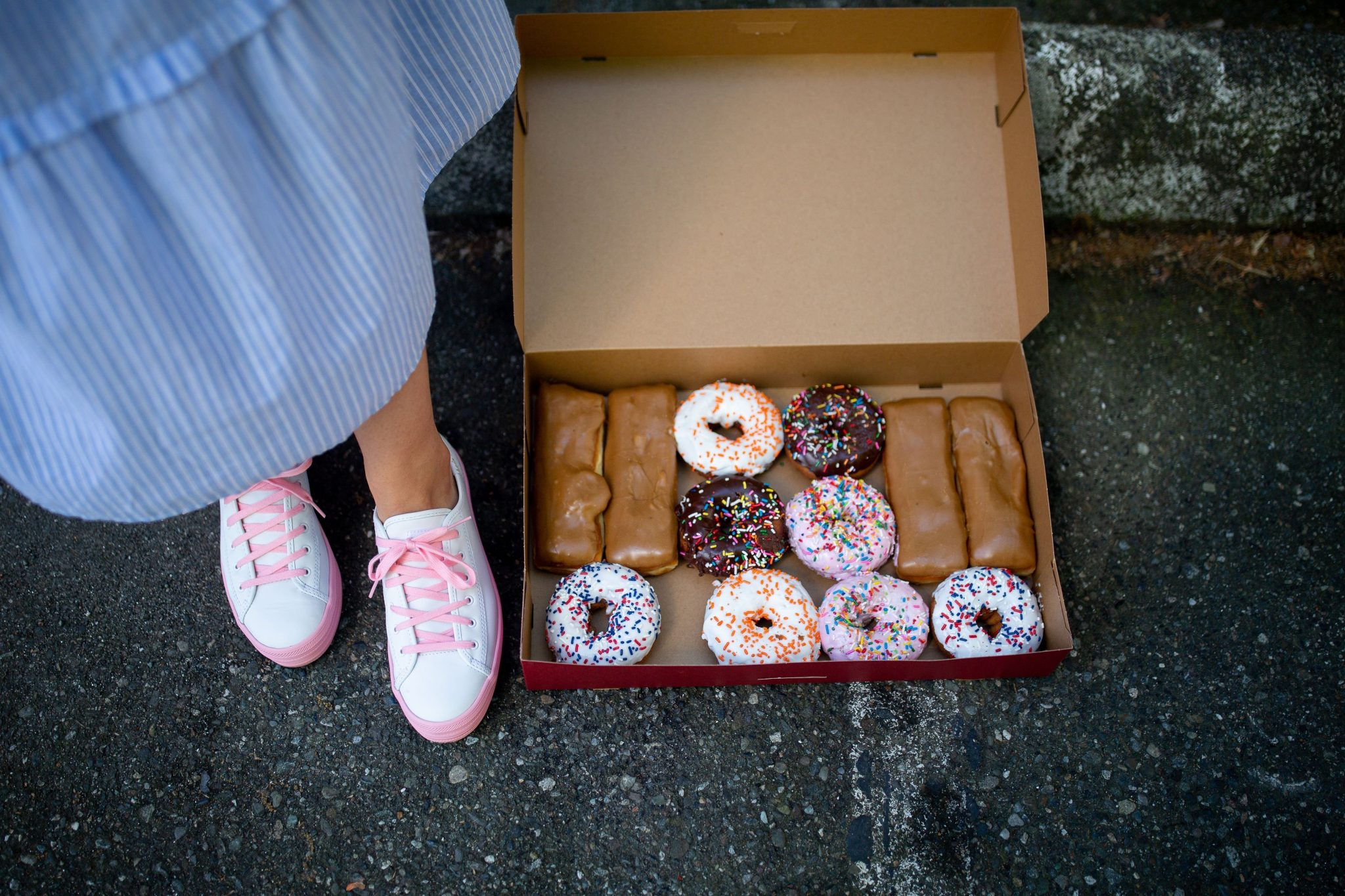 national donut day + ked shoes