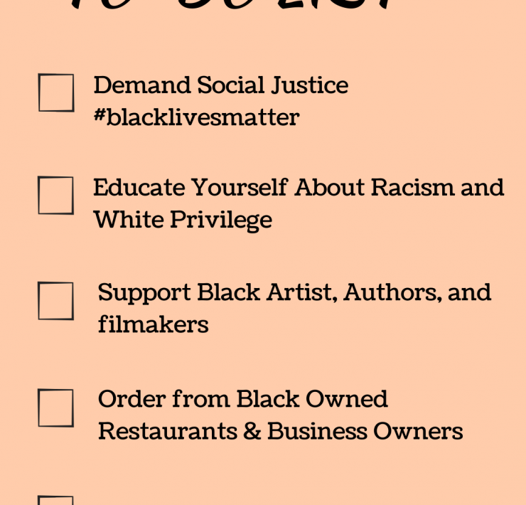 How To Be An Ally on the #blacklivesmatter movement, tips featured by top Seattle lifestyle blogger, Whit Wanders