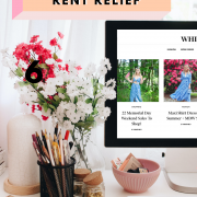 How To Negotiate Rent Relief for COVID-19 email template featured by top Seattle lifestyle blogger, Whit Wanders