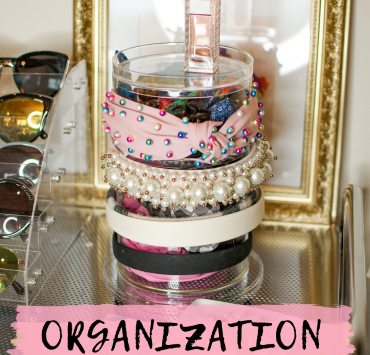 How to Organize Accessories: Clever Organizing Solutions for Makeup, Sunglasses, Hair Accessories and More featured by top Seattle fashion blogger, Whit Wanders.