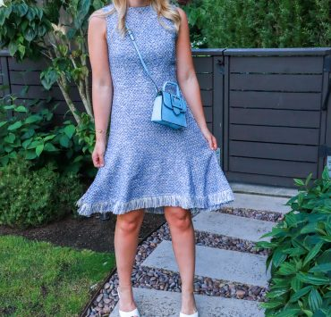 Summer Work Dress from MM LaFleur featured by top Seattle fashion and career blogger, Whit Wanders