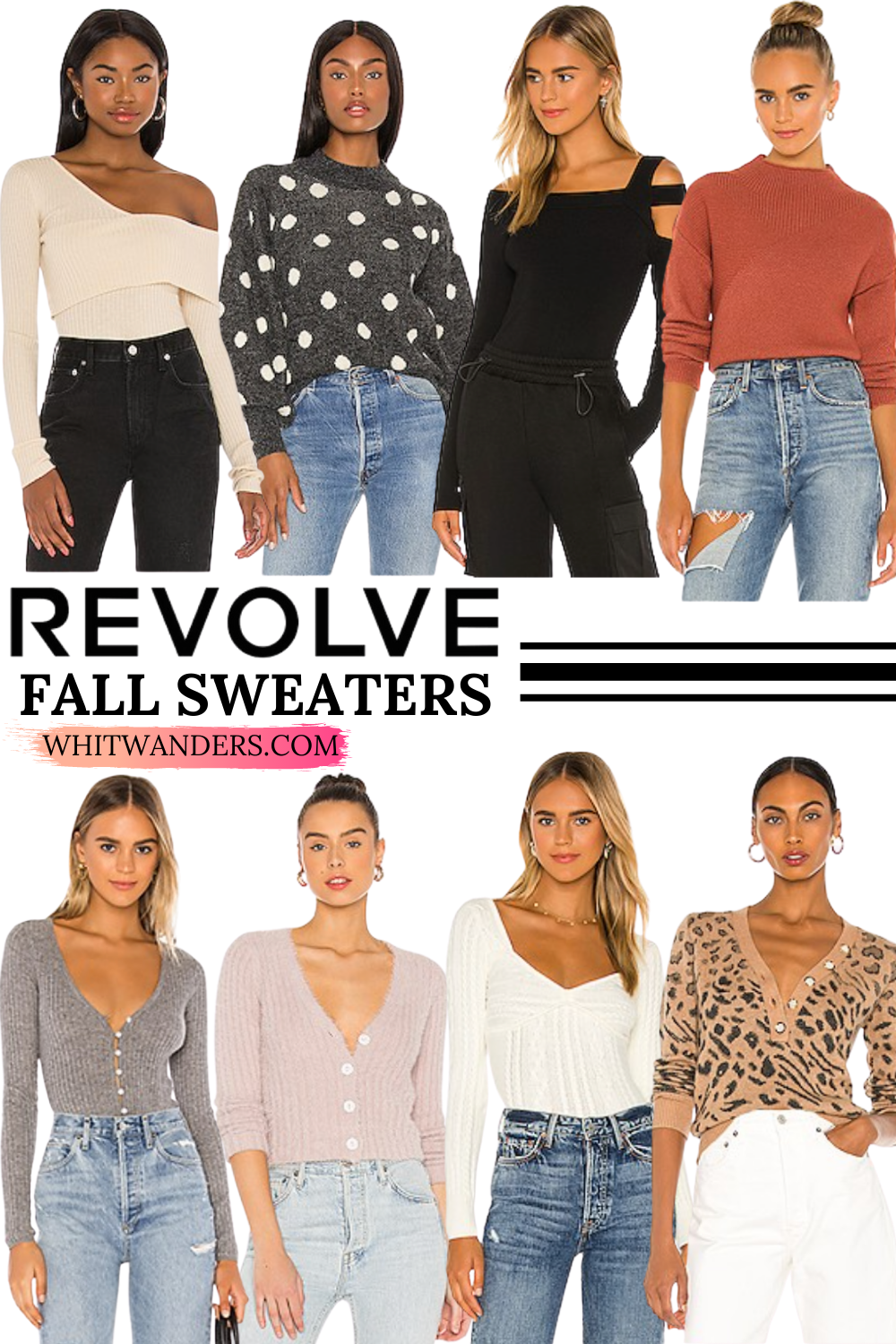 Best Revolve Sweaters for Fall featured by top Seattle fashion blogger, Whit Wanders